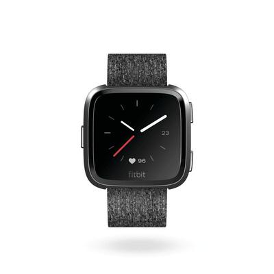 Fitbit Versa - Charcoal Woven/Aluminium Graphite Grey Special Edition Smartwatch