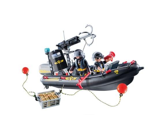 Playmobil Gommone Unità Speciale con refurtiva