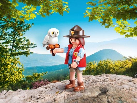 Playmobil Garde forestière