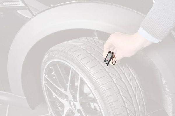 HR Mesureur de profil pour pneus Appareil de mesure
