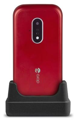 Doro 7030 red/white  Cellulare