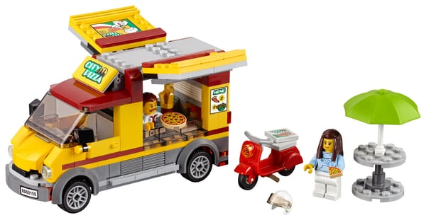 LEGO City Le camion pizza 60150