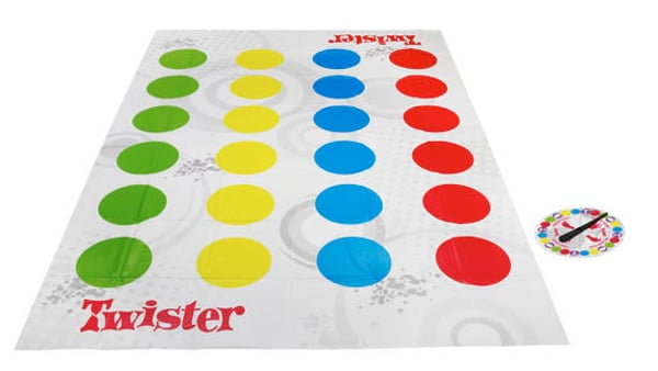 Hasbro Gaming Twister (D) Gesellschaftsspiel
