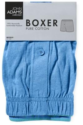 BOXER HOMMES JERSEY bleu