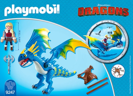 Playmobil Dragons Astrid e Tempestosa 9247