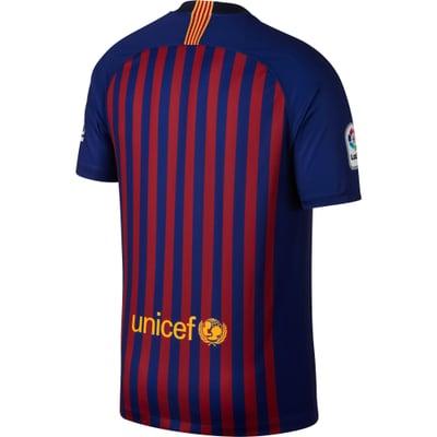 Nike FC Barcelona M SS Home Stadium Jersey Fussball-Klubreplika