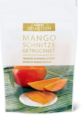 Sélection spicchi di mango essiccati