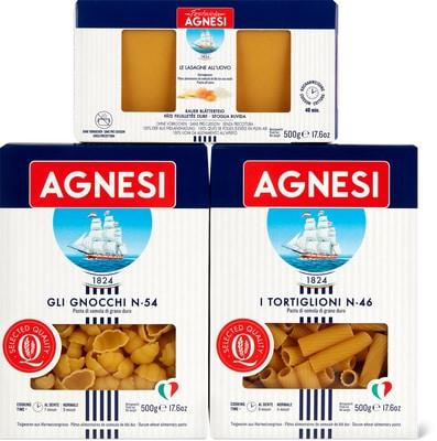 Toutes les pâtes alimentaires Agnesi