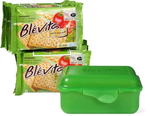 Blévita Dinkelgebäck Tomate-Basilikum