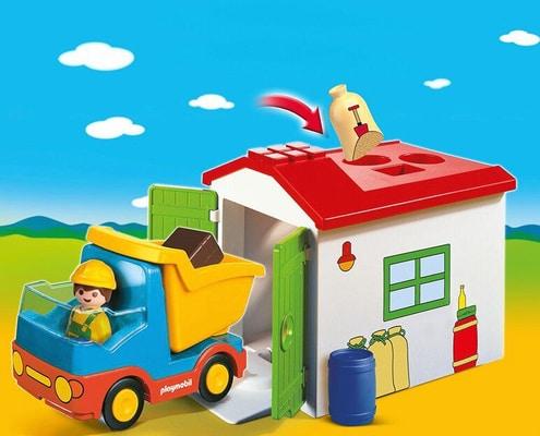PLAYMOBIL® 70184 Camion con cassone 1.2.3