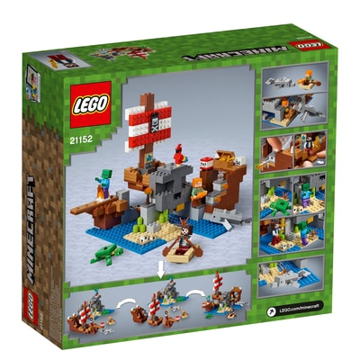 LEGO Minecraft 21152 L'aventure du bateau