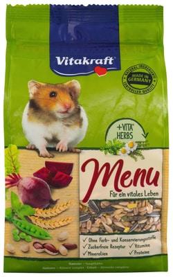 Menü Vital Hamster