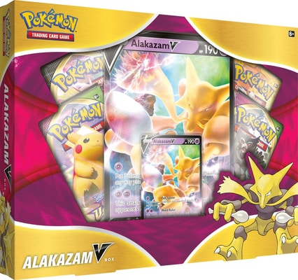Pokémon P-E January V-Box (ENG) Gesellschaftsspiel