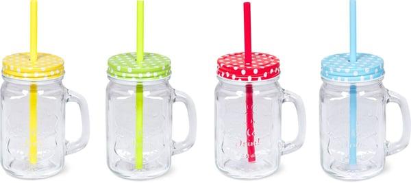 Cucina & Tavola Bicchiere con cannuccia