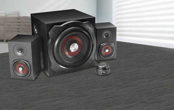 Speedlink Gravity Carbon 2.1 Subwoofer System Altoparlanti per PC