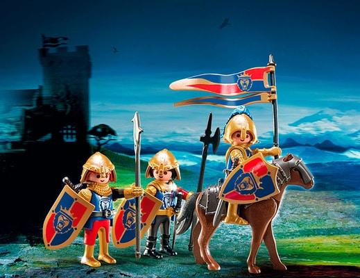 PLAYMOBIL Knights Chevaliers du Lion Impérial 6006