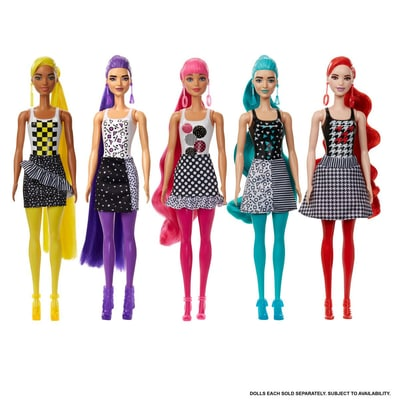 Barbie GWC56/GWC55 Color Reveal Mono Mix Puppe