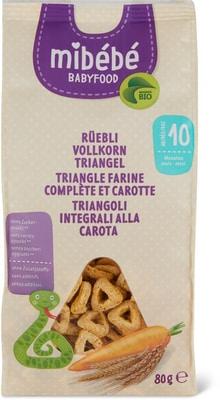 Mibébé triangle farine comp. carotte