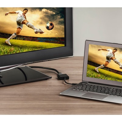 Hama Adaptateur USB-C pour HDMI Ultra HD Adaptateur