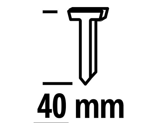 Einhell clous 40mm Outils pneumatiques