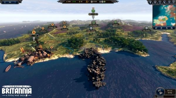 PC - Total War Saga: Thrones of Britannia (I) Box