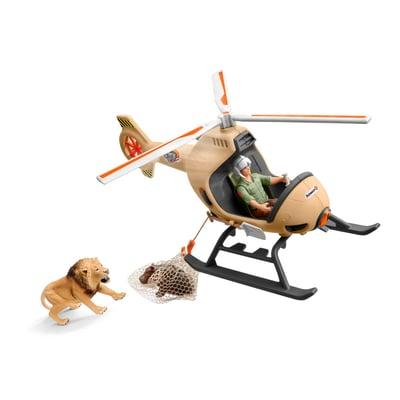 Schleich Helikopter Tierrettung Spielset