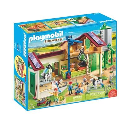 PLAYMOBIL® 70132 Grande ferme avec silo et animaux