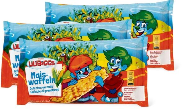 Lilibiggs Galettes au maïs