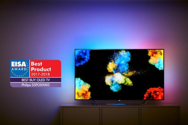 philips 55pos9002 139 cm 4k oled tv migros. Black Bedroom Furniture Sets. Home Design Ideas