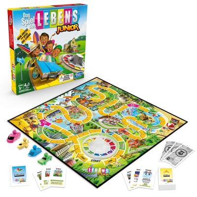 Hasbro Gaming Das Spiel des Lebens Junior (DE) Giochi di società