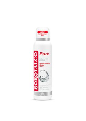 borotalco deo spray pure ohne aluminium migros. Black Bedroom Furniture Sets. Home Design Ideas