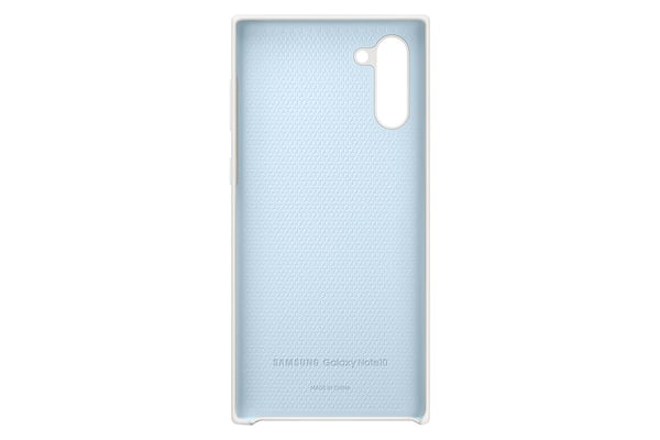 Samsung Silicone Cover white Hülle