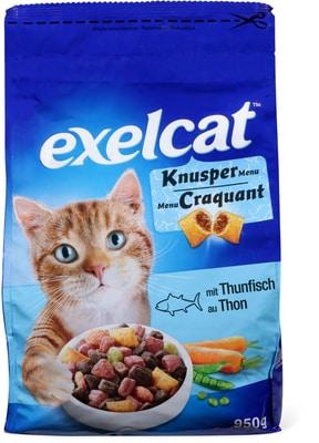 Exelcat Knusper Menu mit Thon