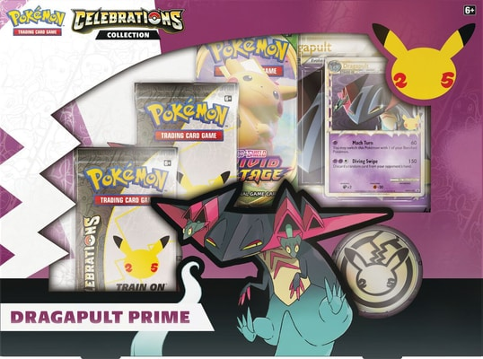 Pokémon Celebrations Dragapult Prime Box