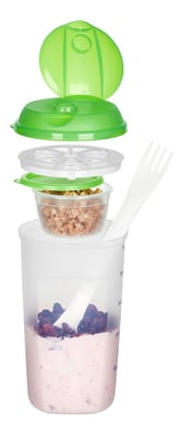 M-Topline TAKE AWAY Salatshaker 1.0L