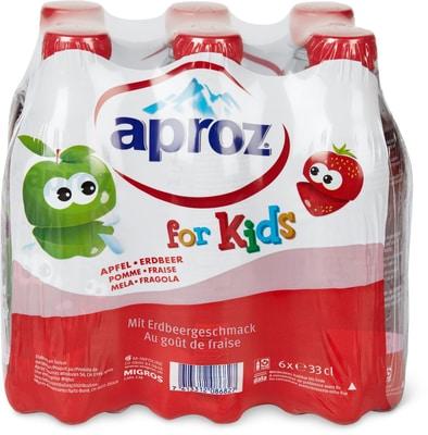 Aproz kids Pomme fraise