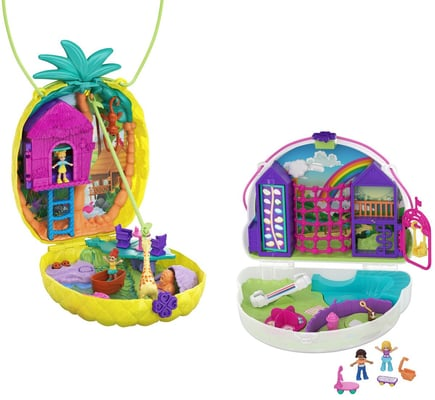 Polly Pocket GKJ63 Grosse Tasche Set di giocattoli