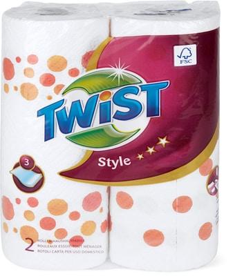 Twist Style Carta uso domestico
