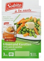 Subito Petits pois&carottes