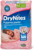 Huggies DryNites Girls 4-7 Years