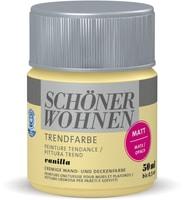 Schöner Wohnen Peinture tendance MATE 50ML Vanilla Vanilla 50 ml