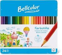 Bellcolor Crayons de couleur