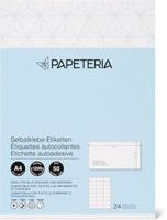 Papeteria Selbstklebe-Etiketten 70x37 1mm weiss