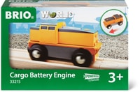 BRIO Locomotive simple à pile (FSC)