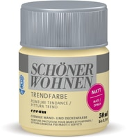 Schöner Wohnen Testeur de couleur tendance Cream 50 ml
