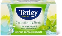 Tetley délicate Green tea mint
