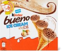 Mini cornetti Kinder Bueno Ice Cream