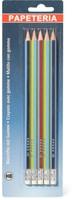 Papeteria Bleistifte mit Gummi HB