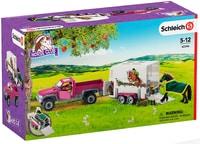 Schleich Schleich Pickup Avec Remorque&Cheval