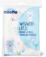 Milette Wegwerf-Lätze  10 Stück